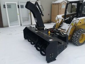 Snow Wizard Sw78ssl 78 2 Stage Snow Blower For Skid Steer Loader Brand New