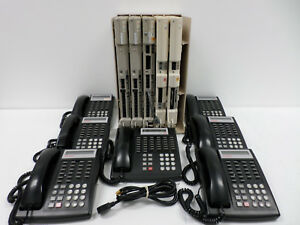 Avaya Partner Acs Phone System With 5 Slot Carrier Cabinet And 7 Phones