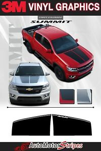 Chevy Colorado Hood Decal Summit Racing Stripes 3m Accent Vinyl Graphics Decals