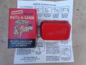 Nos Automatic Buzz a larm Back Up Warning 1948 1968 Chevy Pontiac Plymouth Buick