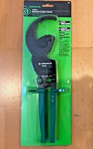 Greenlee 760 Ratchet Cable Cutter Compact Ratchet New In Box