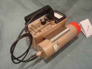 Ludlum Model 3 Geiger Counter With 44 17 Gamma Probe