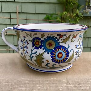 Antique Minton Turkestan Chamber Pot Arts And Crafts
