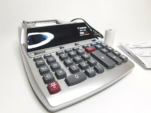 Canon Mp11dx 2 Color Printing Calculator Heavy Duty Desktop Print