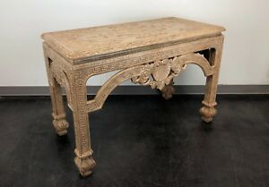 Baker Stately Homes Carved Console Sofa Table