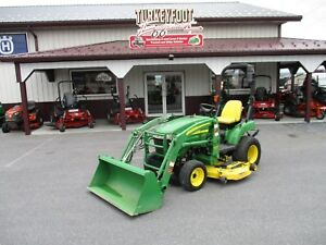 2010 John Deere 2305 Tractor Loader Belly Mower