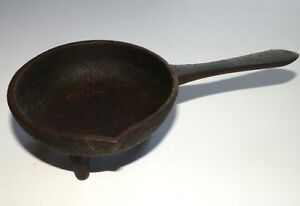 Cast Iron Reproduction From ORIGINAL OLD BULLET MOLD LADLE
