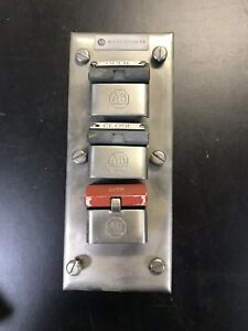 Allen bradley Stainless Steel Enclosure W Buttons