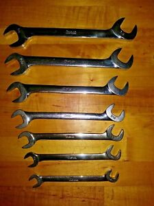 Snap On Sae Vs Series Four Way Angle Head Open End Wrenches Vintage Underline