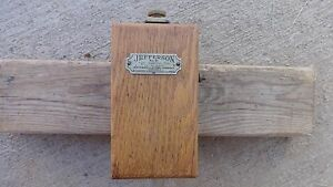 Jefferson 1 Cylinder Vibrating Coil No 51 Box Stationary Hit Mis