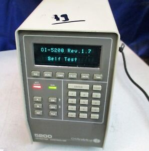 O i analytical 5200 Detector Controller 0 i analytical