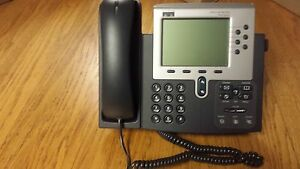 Cisco 7960 Series Cp 7960g Ip Voip Display 6 line Business Phone