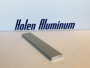 2 Pieces 1 2 X 1 1 2 X 12 6061 Aluminum Flat Bar Stock Solid