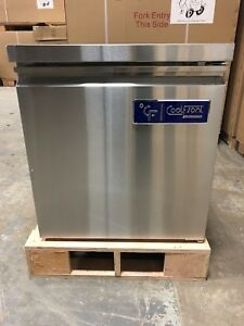 New Coolfront Single One 1 Door Undercounter Stainless Freezer 6 25 Cu
