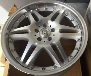 New Brabus Mono Vl 2 Pc 9 5 X 19 Et 45 5 112 Sliver Made In Germany One Wheel