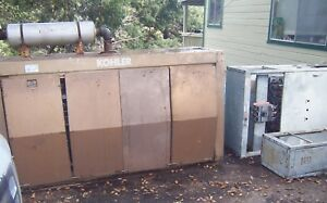 Kohler 85rhc82 85kw Propane Generator W Electrical Panel Transfer Switch 85 Kw