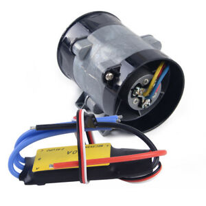 12v Electric Turbine Power Turbo Charger Car Tan Boost Air Intake Fan With Esc