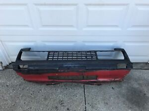 1979 To 1982 Ford Mustang foxbody Front Bumper Cover fascia Oem Used