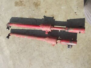 Farmall Ih Super A Sa Tractor Modified Ihc Wide Front End Steering Tie Rod Rods