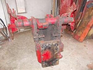 Farmall C Tractor Original Ih Ihc Hydraulic Lift Assembly For Under Tank