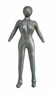 Inflatable Female Full Body Mannequin Dress Form Dummy With Arms And Legs Model
