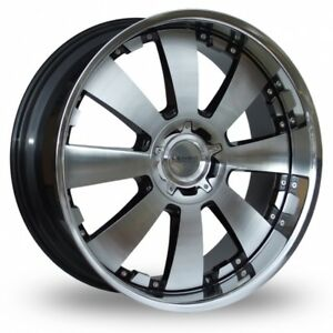 Alloy Wheels X 4 18 Lenso Concerto For Renault Trafic Peugeot Boxer 5x118