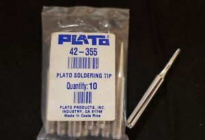 Plato Soldering Iron Tip 42 355 Brand New Package Of 10