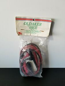 Oldaker 486 6 Test Leads Accessories Triplett Beckman Hitachi Hewlett Packard