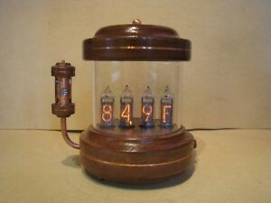 Fahrenheit Thermometer Hygrometer With In14 In19 Nixie Tubes By Monjibox