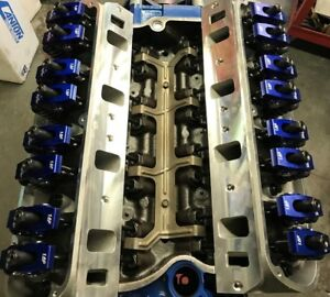 302 306 Ford Long Block Race Prepped 365 hp 160cc Heads Roller Cam Rockers