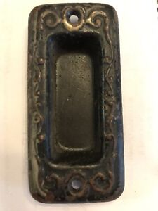 Pocket Sliding Door Pull Victorian Style