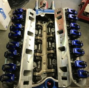 302 331 Ford Long Block Race Prepped 450 hp 190cc Heads Roller Cam Rockers
