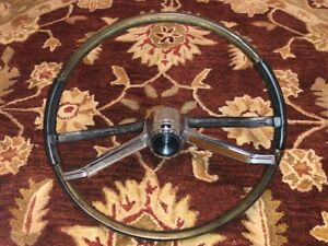 Vintage 1966 Pontiac Steering Wheel