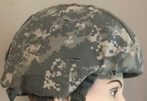 US ARMY Issue ACH Combat Helmet COVER ACU Digital Cover Sz LGXL NEW