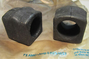 1979 1980 1981 1982 1983 Amc Concord Spirit Amx Eagle 2 Nos Sway Bar Bushings