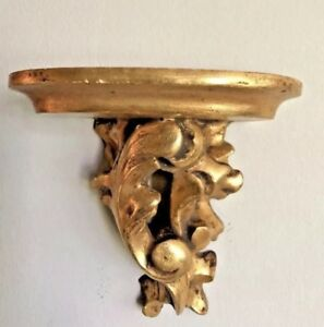 Antique Giltwood Wall Decorative Bracket Sconce