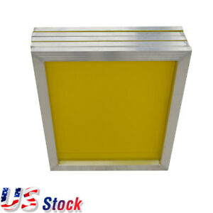 Us 6pcs 20 X 24 aluminum Frame Screen Printing Screens With 230 Yellow Mesh
