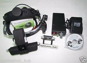 Keeler Vantage Halogen Binocular Ophthalmoscope Rechargeable Free Shipping