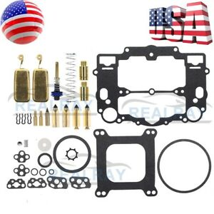 Carb Overhaul Rebuilt Kit For Edelbrock 1806 1812 1813 1825 1826 9900 9903 9904