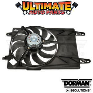 Radiator Cooling Fan with A c For 02 10 Ford Fiesta Or Fiesta Ikon