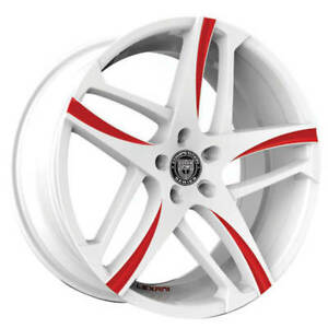4 pcs 24 Lexani Wheels Bavaria Custom Color Rims Fs