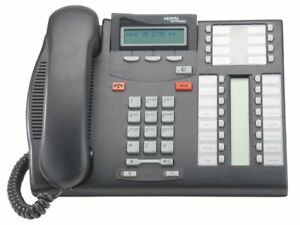 T7316 Nortel Norstar And Bcm Charcoal Telephone
