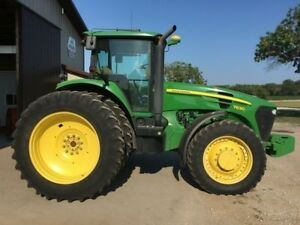 2010 John Deere 7830 175 Hp powerquad Transmission enclosed Cab 4wd 1970 Hours