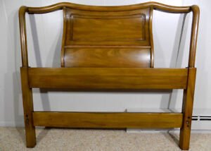 John Widdicomb Sculptural Twin Headboard Cherry Mid Century Grand Rapids Mi