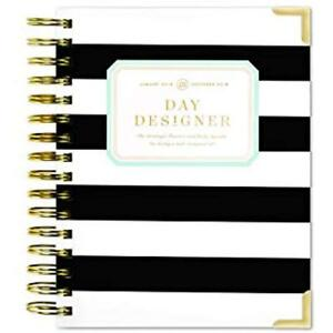 Day Designer 2019 Mini Daily Life Planner And Agenda Hardcover Twin wire X