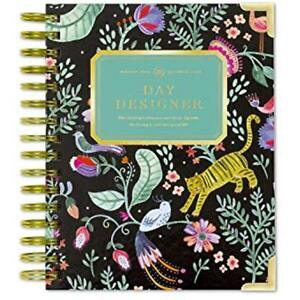 Day Designer 2019 Mini Daily Life Planner And Agenda Hardcover Twin wire X Out