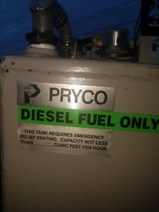 Pryco Diesel Fuel Day Tank 100 Gallon Double Walled Ul Py100uldw