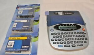 Brother P touch Pt 1750 Label Thermal Printer With 3 New Tape