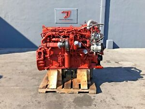 2013 Cummins Isx15 450 Diesel Engine Cm2350 Cpl3937 Serial 79675679