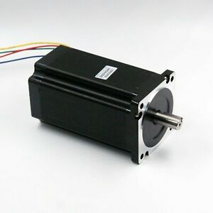 Nema 34 Stepper Motor 6a 12nm 1700 Oz in 156mm Length For Cnc Router Mill L